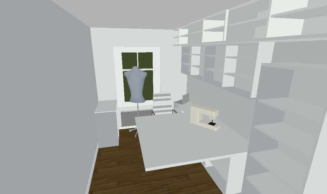 craft room layout