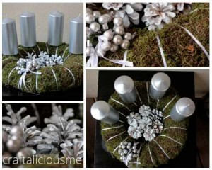 moss wreath inspiration
