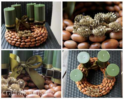 acorn wreath inspiration