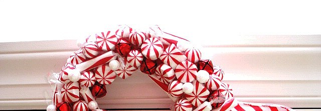 candy wreath header