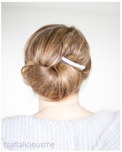 sparkling hair accessory