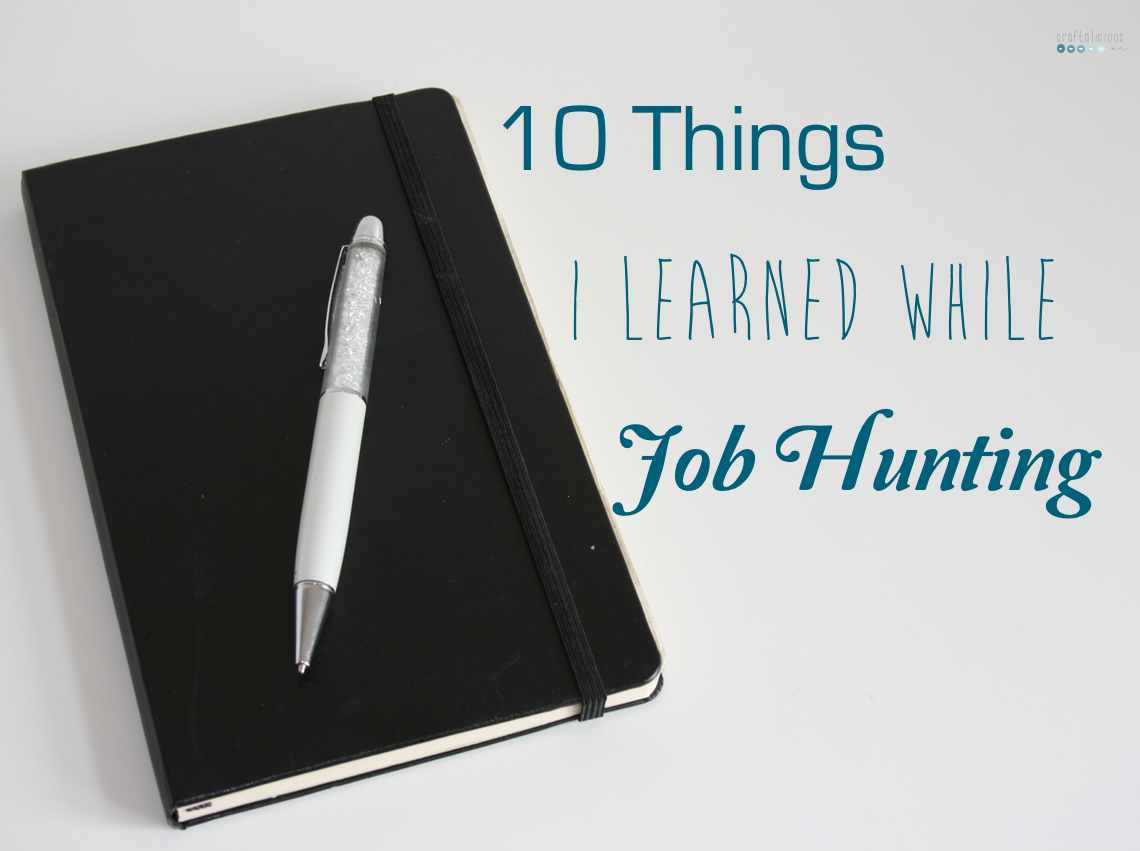 1o things jobhunting