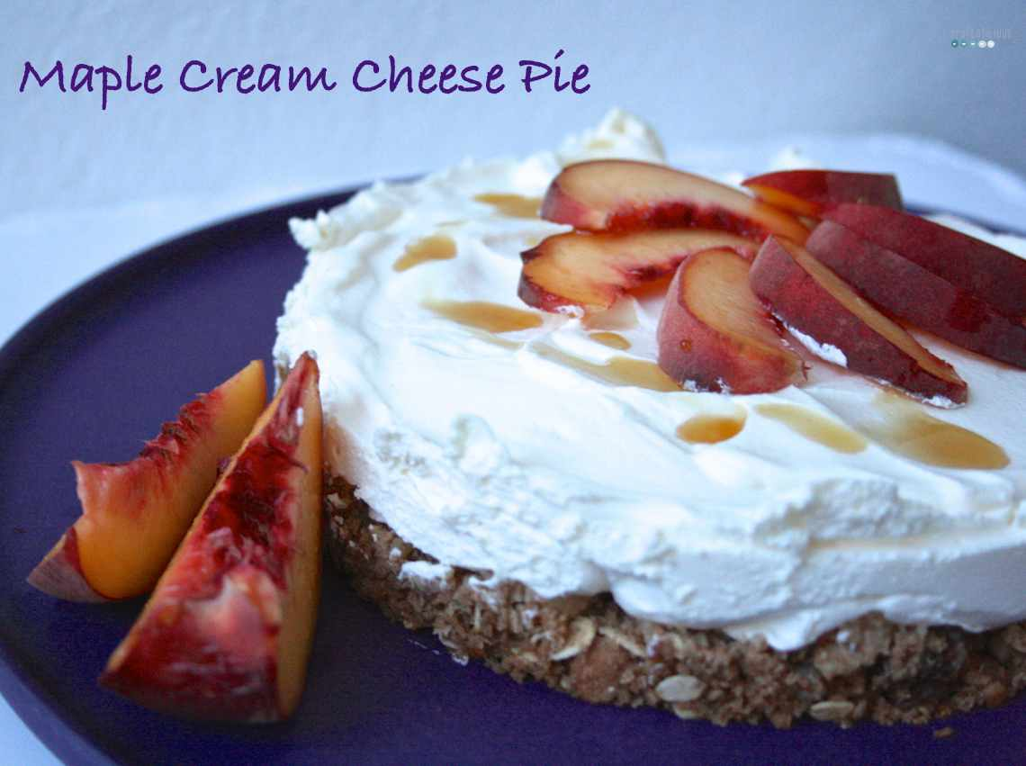 maple cream cheese pie
