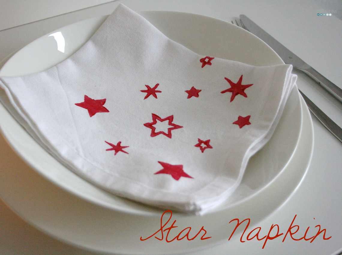 star napkins