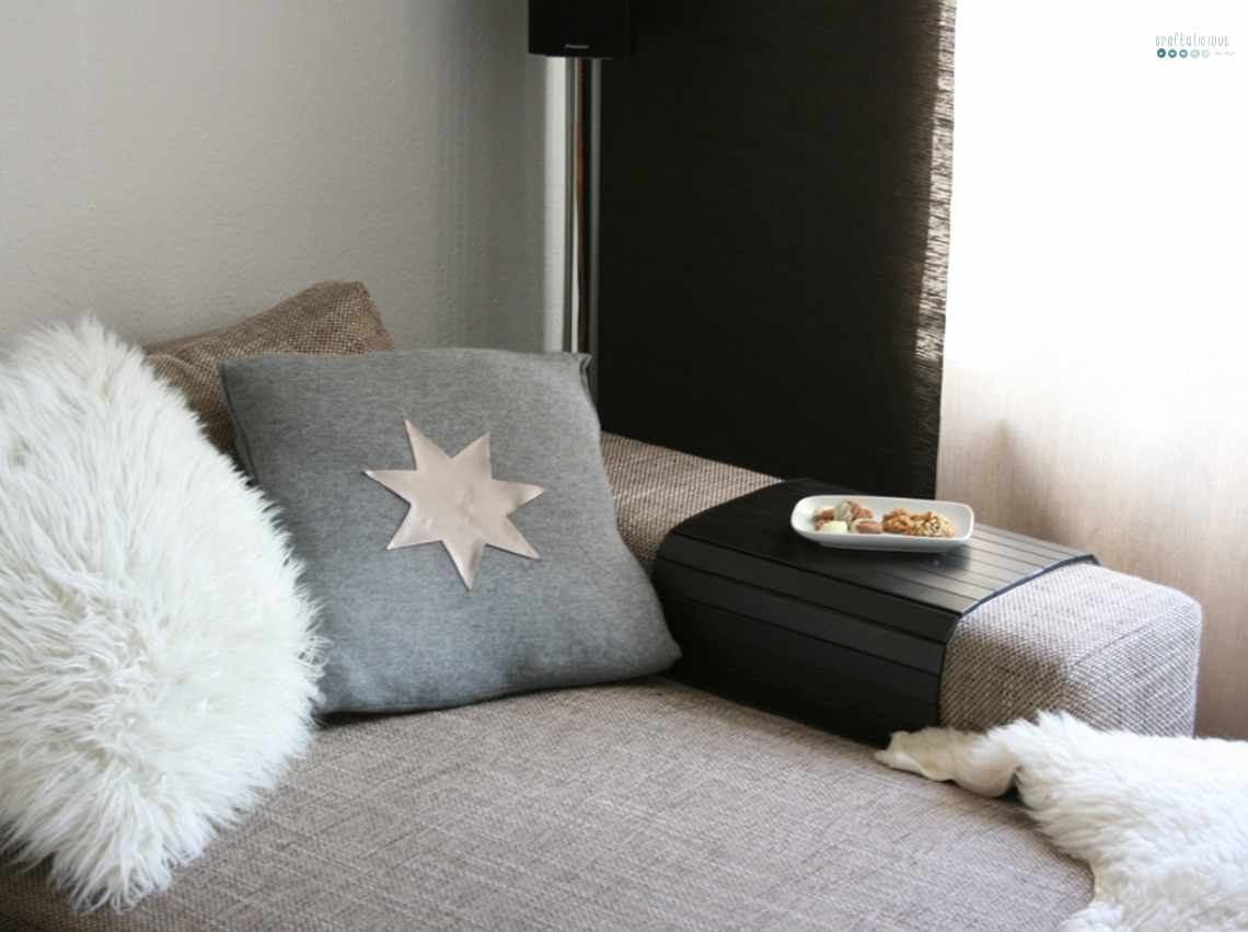 DIY star pillow