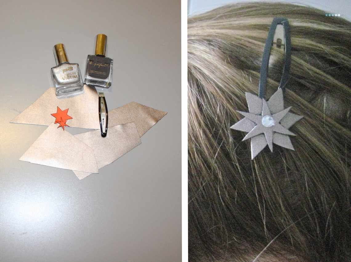 star accessory hair clip