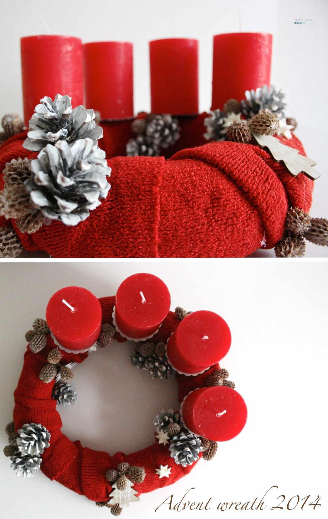 advent wreath 2014