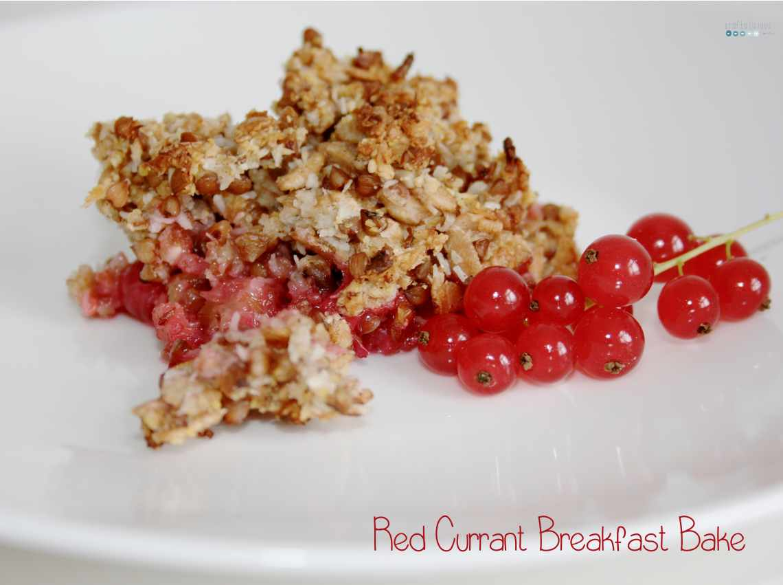 red currant breakfast bake