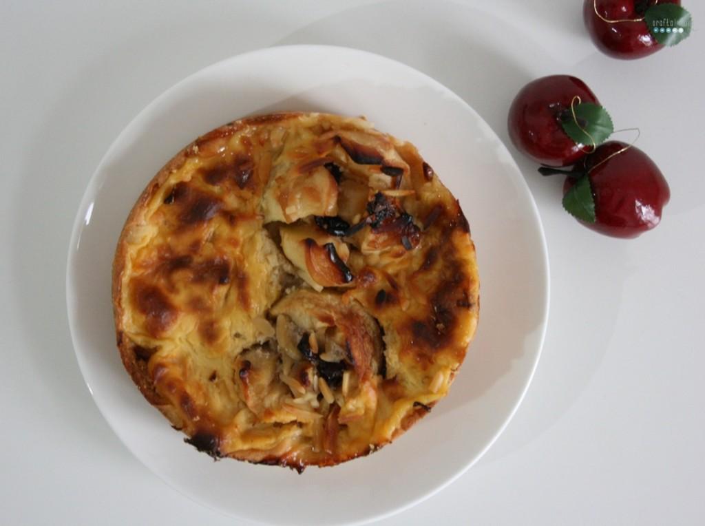 baked apple pie | bratapfelkuchen top