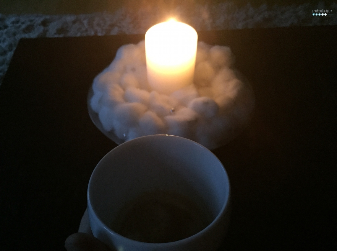 morning coffee during advent