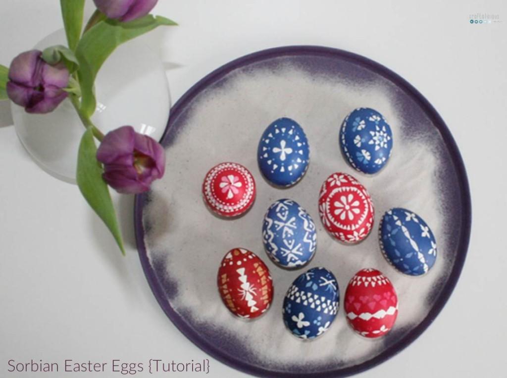 sorbian easter eggs tutorial