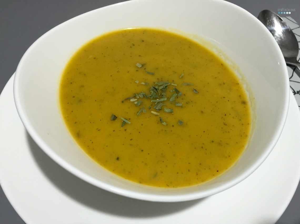 sweet potato zucchini soup