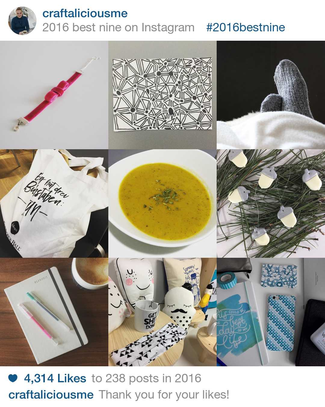 craftaliciousme bestnine2016