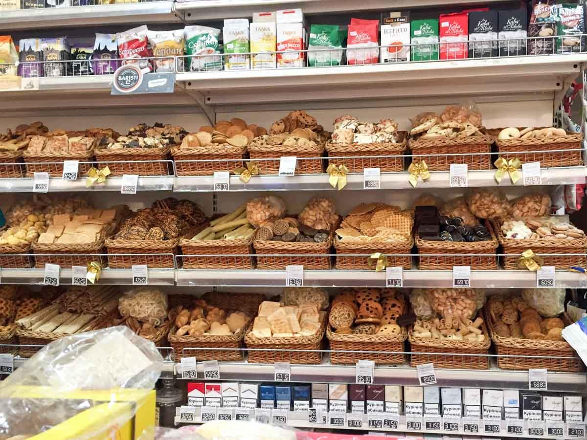 Lviv corner shop cookies