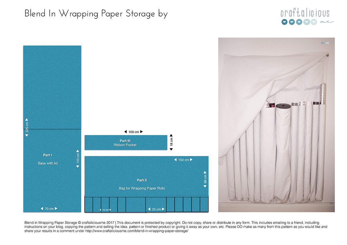blend in wrapping paper storage_Measurments