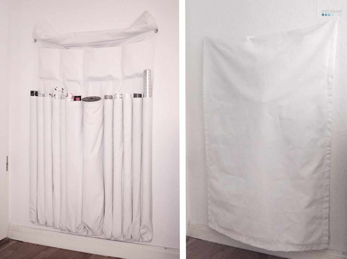 blend in wrapping paper storage_open closed