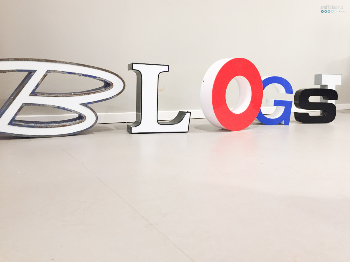 creative weekend blogst letters
