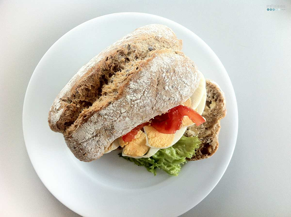 egg sandwich eierbrötchen