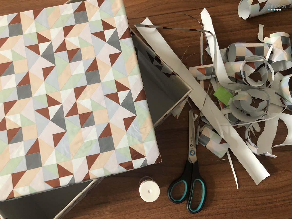12von12_crafting christmas shoebox