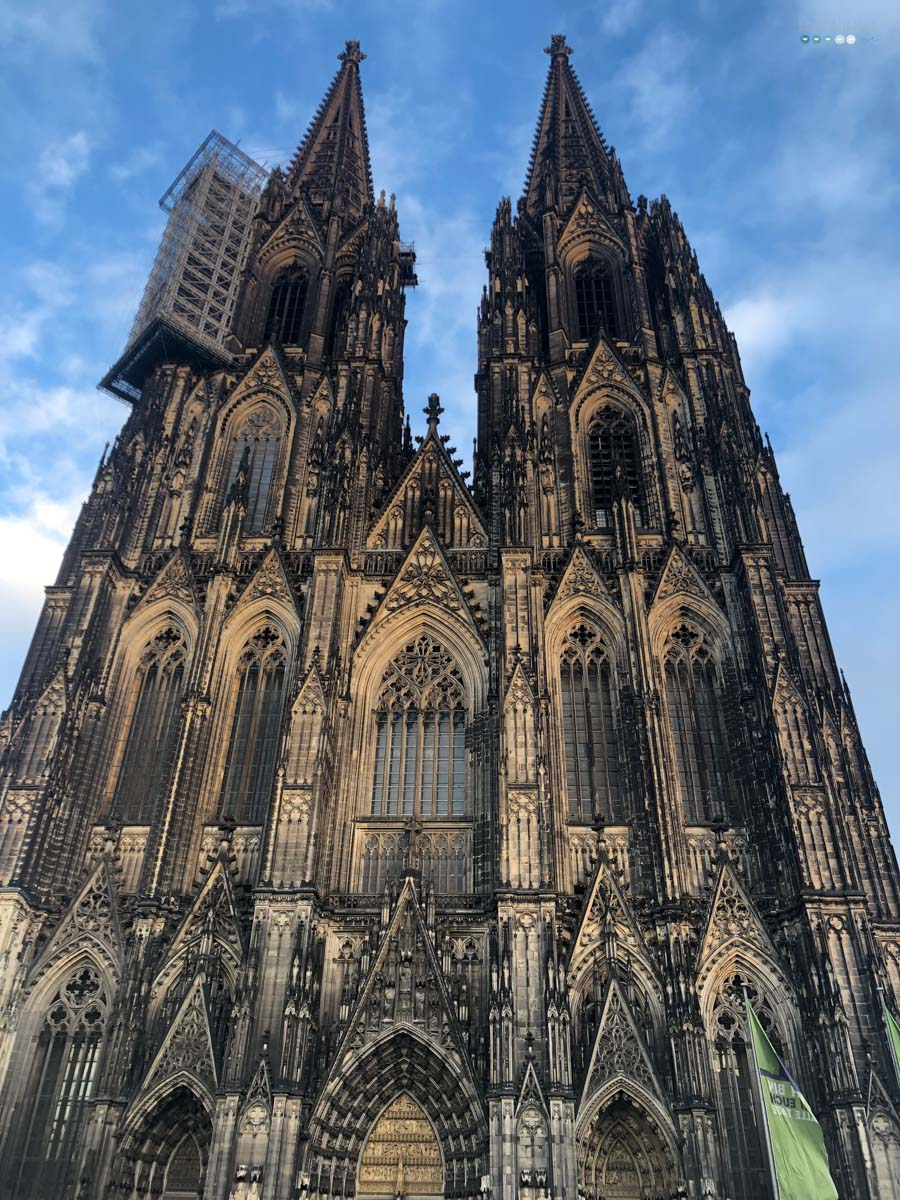 craftaliciousme seeking creative life Cologne Cathedral blue sky