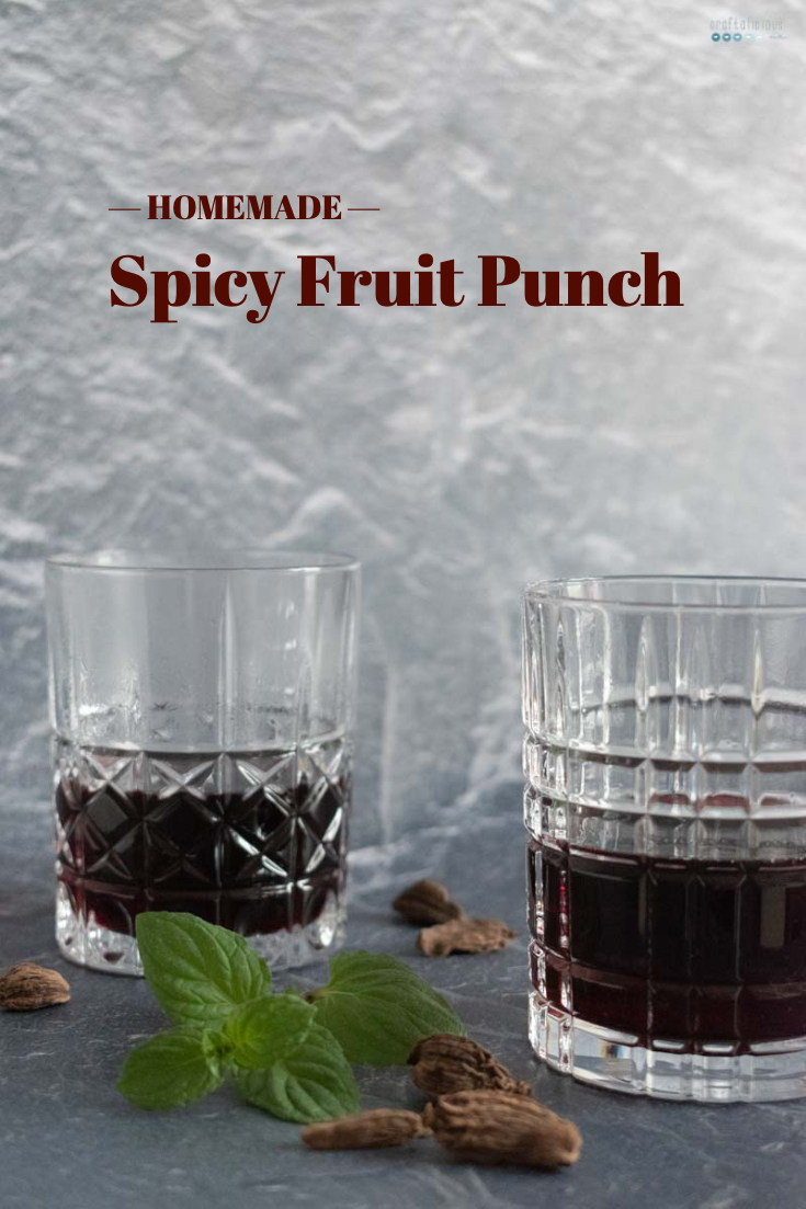spicy fruit punch for cold winter days