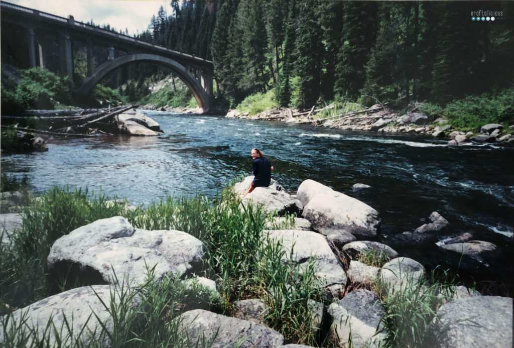 craftaliciousme seeking creative life fishing at payette river near horseshoe bend