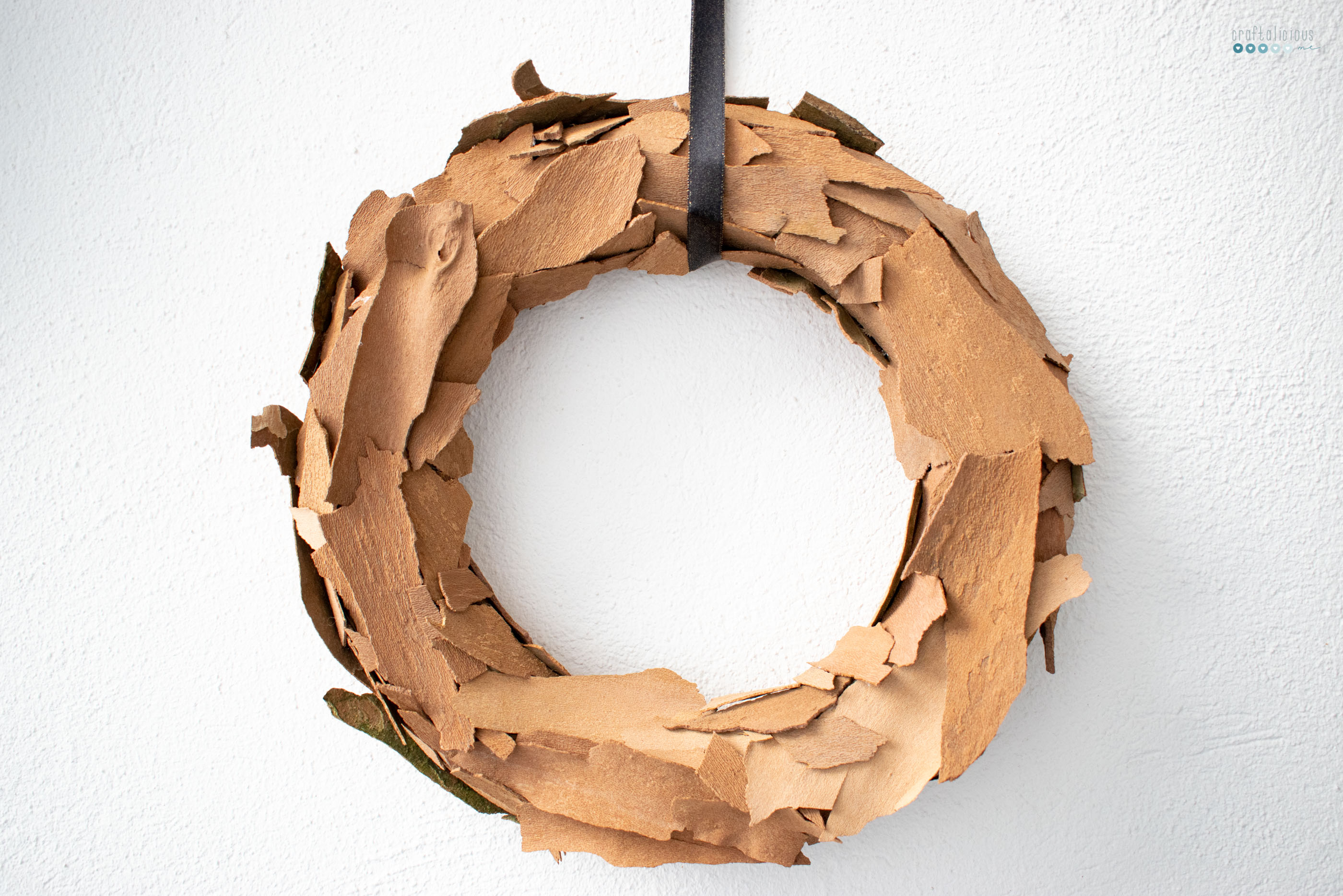 Bark Wreath seeking creative life