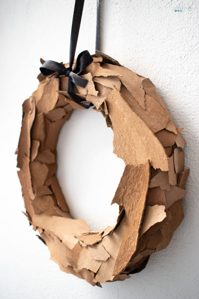 seeking creative life craftaliciousme Bark Wreath