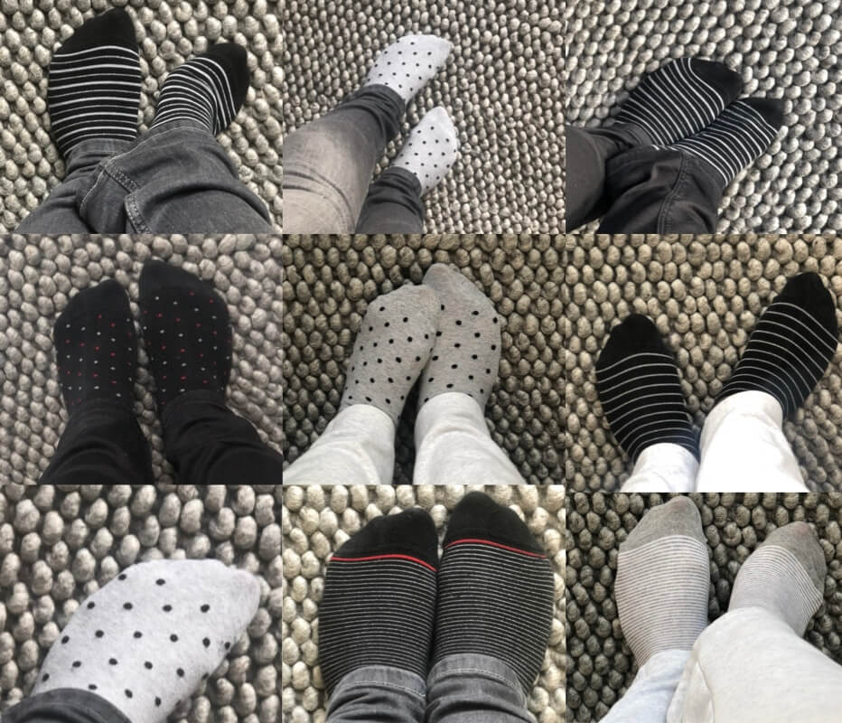 Polka dot socks collections craftaliicousme seeking creative life
