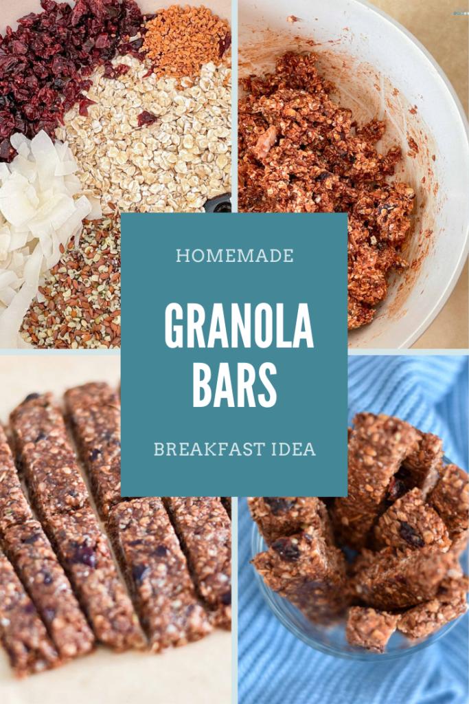 homemade granola bars breakfast idea craftaliciousme